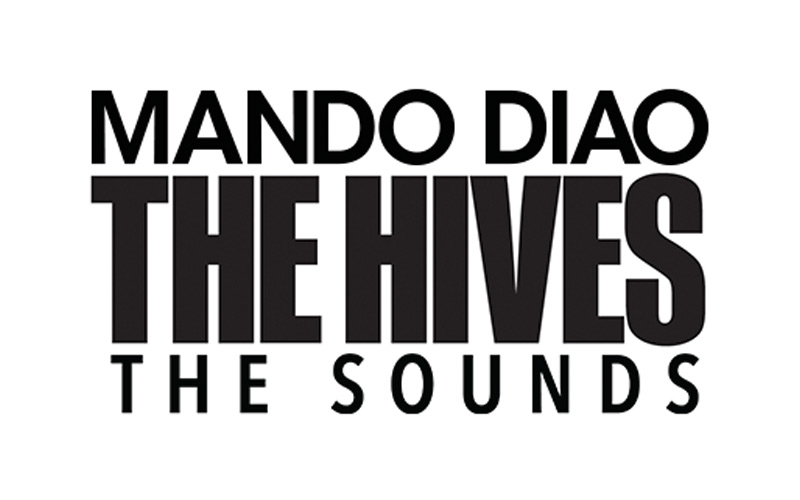 The Hives, Mando Diao & The SoundsDalhalla